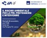 Responsabilità Ambientale delle aziende: analizzare, gestire e trasferire il rischio. Evento a Lecco il 26.11.2019 alle 17.00